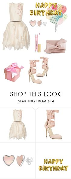 """🎉Happy Birthday!🎉"" by fasshionn0 ❤ liked on Polyvore featuring Miss Selfridge and Kevyn Aucoin"