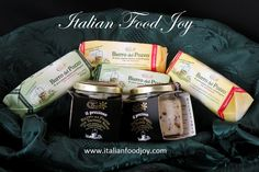 """Are you asking yourself """"where can I buy Italian food near me""""? If you live in Europe,on Italian Food Joy you can, buy from the producer. Truffle Butter, Salted Butter, Italian Food Near Me, Luxury Food, Italian Cheese, Truffles, Preserves, Italian Recipes, Countries"""