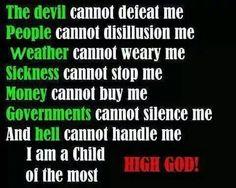 My God is amazing...