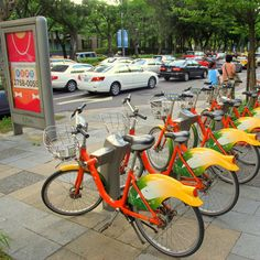 YouBike, or Taipei Bike Sharing System, is a public bicycle sharing service offered by Taipei City Department of Transportation in a BOT collaboration with local manufacturer Giant Bicycles. #SharingOverOwnership
