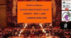 """Una coalición de varios activistas de Las Vegas y organizaciones comunitarias (incluida Food Not Bombs Las Vegas) está colaborando en la celebración del Día de los Muertos de este año para honrar a las víctimas de la violencia policial. El festival, que se traduce como """"Día de Muertos"""" en inglés, se llevará a cabo el 1 de noviembre en Lorenzi Park. Thing 1, Las Vegas, Mexican Holiday, November 1st, Community Organizing, Cabo, Police, Skull Mask, Event Calendar"""
