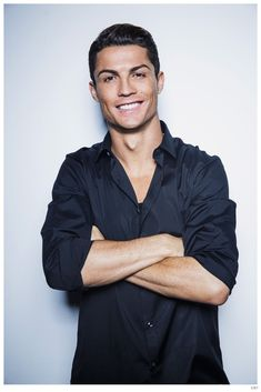 Cristiano Ronaldo & Irina Shayk Did Totally Hot Photo Shoots!: Photo Cristiano Ronaldo looks so hot in these brand new images for his new Shirts collection. Cristiano Ronaldo Irina, Cr7 Ronaldo, Cristiano Ronaldo Shirtless, Cristiano 7, Ronaldo Football, Floyd Mayweather, Lionel Messi, Lebron James, Men In Black