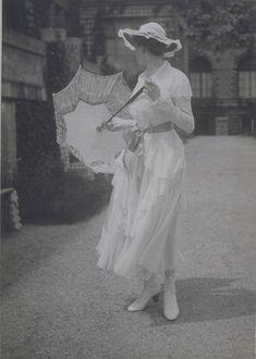 Sommerkleid der Wiener Werkstätte, 1916