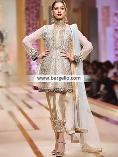 Pale Silver Arum Party Wear Party Dresses Pittsburgh Pennsylvannia PA US Pakistani Formal Dresses, Pakistani Outfits, Indian Dresses, Indian Party Wear, Indian Wedding Outfits, Indian Outfits, Western Dresses For Women, Stylish Dresses, Dress Collection