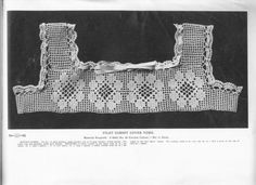 Irish Crochet, Crochet Top, Edwardian Era, Lace Collar, Art Studios, The Borrowers, Archive, Internet, Princess