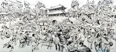 슈퍼애니 Amazing illustrations by Kim Jung-Gi