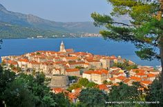Island Korčula - another one of popular middle Darlmatian islands, rich with Renaissance history and tradition. Island Korčula offers nights of klapa songs, knightly tournaments, reenactment of battles during the times of Marko Polo and religious processions, all under the fortress walls of Korčula town.