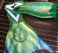 Fire Pixie Fashion: How I made my Neoprene Swimming Mermaid Tail - Tutorial