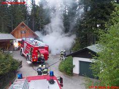 Brand eines Knickschlepper #feuerwehr #firefighters