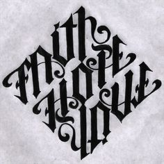 Ambigram designed by Mark Palmer/Illustrated by Tatumi INK