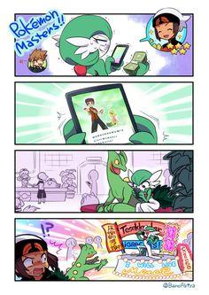 banoakira: Gardevoir picked Brendan on Pokemon Masters ! :D yay Pokemon Mew, Sexy Pokemon, Pokemon Comics, Pokemon Funny, Pokemon Stuff, Cute Anime Pics, Cute Anime Couples, Pokemon Pictures, Funny Pictures