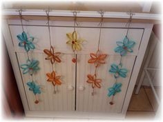 Upcycled TP Roll Flowers Pic 3