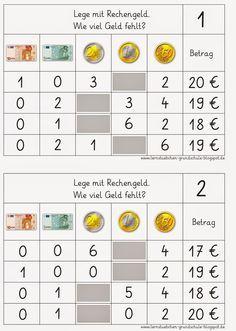 Lernstübchen: Rechenfutter rund ums Geld (4)