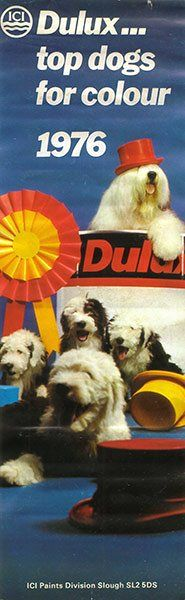 50 years of the Dulux dog: 1976