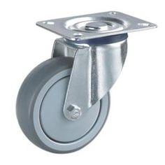 Best Graue Lenkrollen Rad Material PA PP TPR mit Metallrahmen Gr e