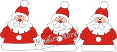 Decorazioni di Babbo Natale