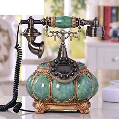 European antique phone / landline home-Blue Version 1 Ant... http://www.amazon.com/dp/B01CWTUU4M/ref=cm_sw_r_pi_dp_0vLuxb0YYMW5B