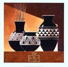 Patterns in Ebony II / Keith Mallett