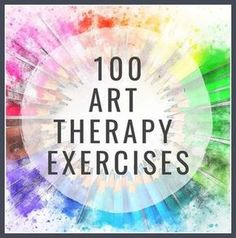 """100 Art Therapy Exercises - The 2019 Updated List """"The healthiest form of proje. - 100 Art Therapy Exercises – The 2019 Updated List """"The healthiest form of projection is art"""" - Art Therapy Projects, Art Therapy Activities, Art Activities For Kids, Therapy Ideas, Play Therapy, Art Projects, Therapy Worksheets, Health Activities, Therapy Tools"""