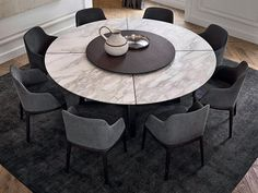 Some Of The Most Elegant Round Dining Room Tables 2019 Dining Room Table Dining Elegant Room tables Large Round Dining Table, Round Marble Table, Circular Dining Table, Square Dining Tables, Marble Dining Tables, Modern Dinning Table, Contemporary Dining Table, Round Tables, Dining Chair