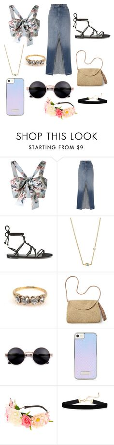 """Untitled #303"" by alexandriamcbride on Polyvore featuring Zimmermann, J Brand, Rebecca Minkoff, Sydney Evan, Mar y Sol and claire's"