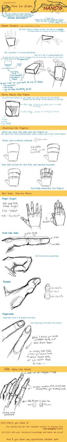How to Draw Hands tutorial: http://ccrask.deviantart.com/art/How-to-Draw-Hands-Tutorial-202412262?q=boost%3Apopular%20how%20to%20draw=49