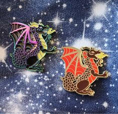 Welsh Dragon Enamel Pin by EPinAndTonic On Etsy