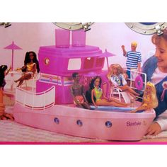 Pretty much had everything to do with barbies but this was one of my favs..other than her dream house.. :)