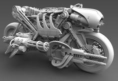 well its kinda steampunky...moto-terminator...