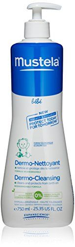 #skincare #blue Now in bonus size, this tear-free cleansing gel for hair and body is specially formulated for newborns and may be used from birth on.Its #gentle...