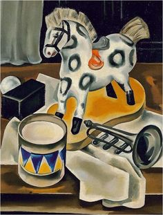 The First Art Newspaper on the Net Antique Rocking Horse, Rocking Horses, Cubist Art, Magic Realism, Spanish Painters, Harlem Renaissance, First Art, Sculpture, Various Artists