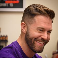 The gentleman haircut is a classic and clean cut look. It usually has a side part but can also be combed over to one side without a defined part. Update the gentleman with a fade haircut Cool Hairstyles For Men, Cool Haircuts, Haircuts For Men, Mens Wedding Hairstyles, Hipster Hairstyles Men, Mens Modern Hairstyles, Professional Hairstyles For Men, Hairstyles Pictures, Men's Haircuts