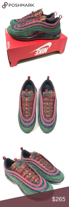 Nike Air Max 97 NRG Red Midnight AT6145 600 Sz 9.5 Brand new in the box cd5403005