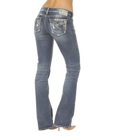 Love this Silver Jeans Co. Indigo Tuesday Bootcut Jeans by Silver Jeans Co. on #zulily! #zulilyfinds