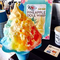 Shore north shaved oahu ice hawaiian