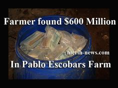 BILLIONAIRE GAMBLER™: Farmer found $600 Million in Pablo Escobar farm