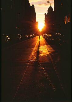 ✯ Sunset on the 20th Street ..New York..   June 2012 ..by Alex Khudokon ✯
