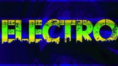 Linehood Design: Electro háttérkép zöld és sárga HD 1920x1080