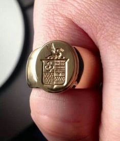 Ring Bear, Wax Seals, Signet Ring, Ring Designs, Band Rings, Rings For Men, Inspiration, Jewelry, Style