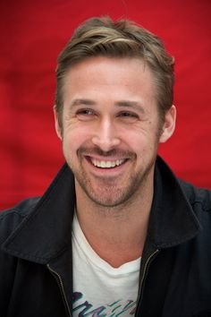 Pin for Later: Here's What 14 Hot Celebrity Guys Would Look Like on a Date With You Ryan Gosling, After You Tell the Hilarious Joke You Practiced in the Mirror All Day