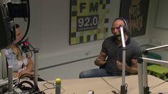 Frank de Bruyn bij Young Agga/Den Haag FM