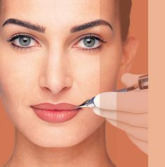 Permanent Makeup is ideal to create a natural looking made-up look.