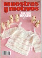 Gallery.ru / Фото #66 - Muestras y Motivos Especial Bebes 1 - tymannost Baby Patterns, Knitting Patterns, Crochet Patterns, Knitting Magazine, Crochet Magazine, Knitting Books, Baby Knitting, Knitted Baby Clothes, Baby Knits