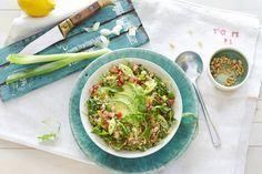 10 juli - Avocado in de bonus - Door couscous te combineren met verse groenten maak je heel makkelijk een frisse salade - Recept - Allerhande