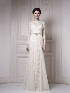 Ersa Atelier Wedding Gown - 2013 Couture Collection - (theweddingnotebook)