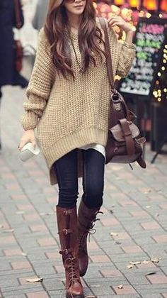 Hooded Sweater Cape - Drop Shoulder Detailing  - Shop The Top Online Women's Clothing Stores via http://AmericasMall.com/categories/womens-wear.html