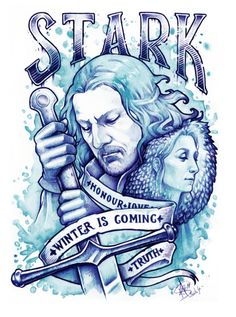 WINTER+IS+COMING+by+Medusa-Dollmaker.deviantart.com+on+@DeviantArt Game of Thrones Stark