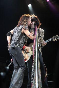 Steven Tyler & Joe Perry Of Aerosmith