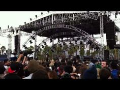 Neon Indian Polish Girl live @ #Coachella 2012