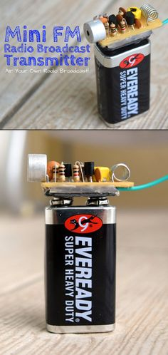 This small and simple FM transmitter is the toy that geeks have always wanted.